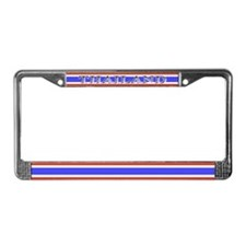 Thailand Thai Flag License Plate Frame