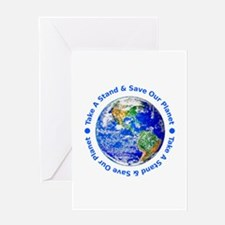Save Our Planet! Greeting Card