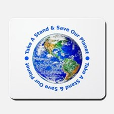 Save Our Planet! Mousepad