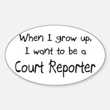 When I grow up I want to be a Court Reporter Stick