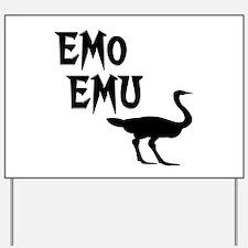Emo Emu Yard Sign