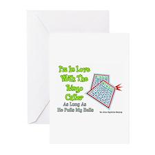 Bingo Caller Balls Greeting Cards (Pk of 10)