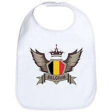 Belgium Emblem Bib