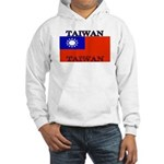 Taiwan Taiwanese Flag Hooded Sweatshirt