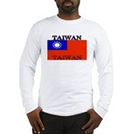 Taiwan Taiwanese Flag Long Sleeve T-Shirt