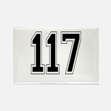 117 Rectangle Magnet