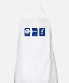 Eat, Sleep, Ninja BBQ Apron