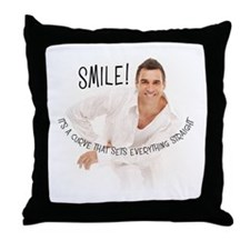 Adrian Paul Throw Pillow