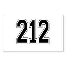 212 Rectangle Decal