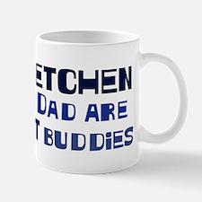 Gretchen and dad Mug