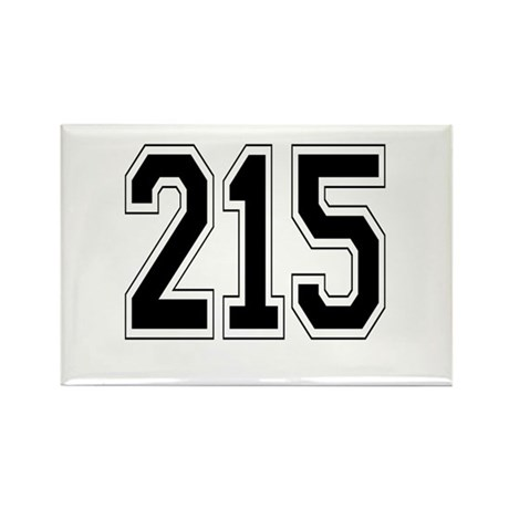 215 Rectangle Magnet (10 pack)
