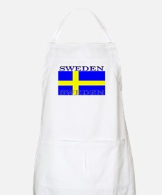 Sweden Swedish Flag BBQ Apron
