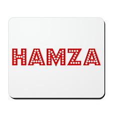Retro Hamza (Red) Mousepad