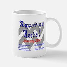Aquarius January 25th Mug