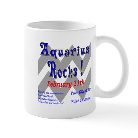 Aquarius February 11th Mug