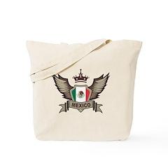 Mexico Emblem Tote Bag