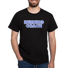 Retro Running Coach (Blue) T-Shirt