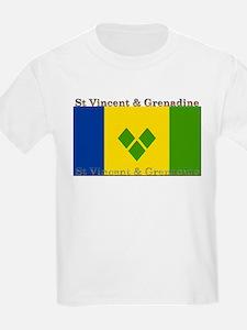 St Vincent & Grenadine Kids T-Shirt