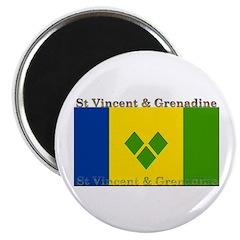 St Vincent & Grenadine Magnet