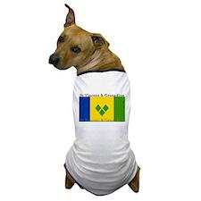 St Vincent & Grenadine Dog T-Shirt