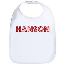 Retro Hanson (Red) Bib