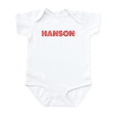 Retro Hanson (Red) Infant Bodysuit