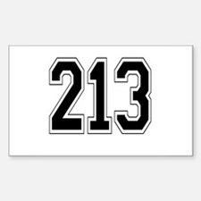 213 Rectangle Decal