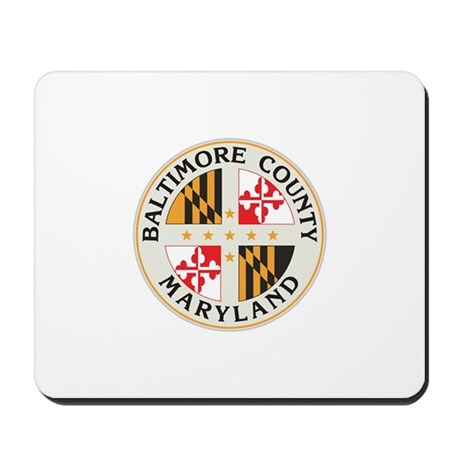 BALTIMORE-COUNTY-SEAL Mousepad