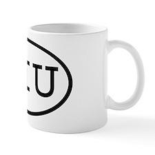 SIU Oval Mug