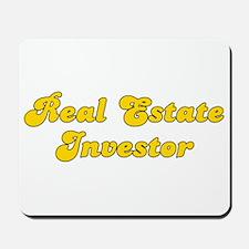 Retro Real estate.. (Gold) Mousepad