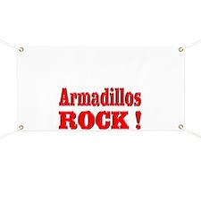 Armadillos Rock ! Banner
