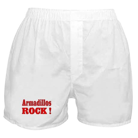 Armadillos Rock ! Boxer Shorts