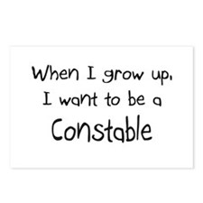 When I grow up I want to be a Constable Postcards