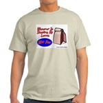 Stealing My Lunch Will Pay Ash Grey T-Shirt