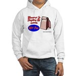 Stealing My Lunch Will Pay Hooded Sweatshirt