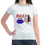 Stealing My Lunch Will Pay Jr. Ringer T-Shirt