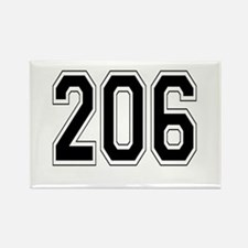 206 Rectangle Magnet