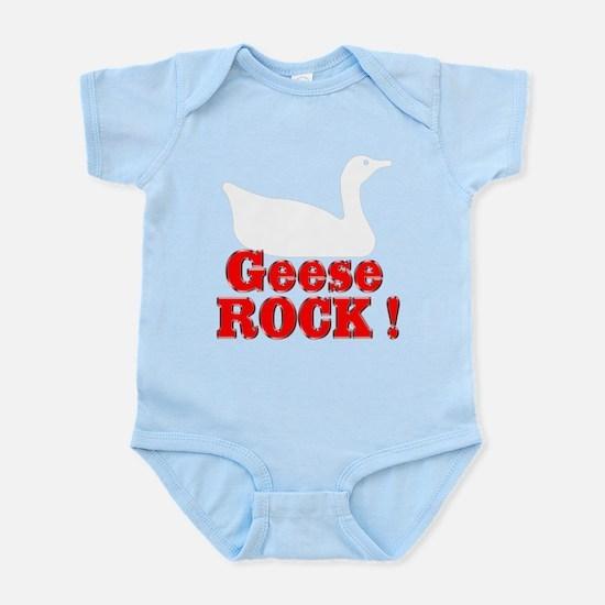 Geese Rock ! Infant Bodysuit