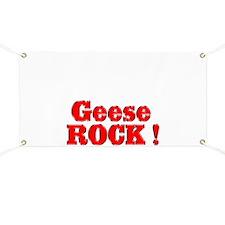 Geese Rock ! Banner