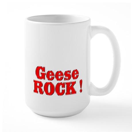 Geese Rock ! Large Mug