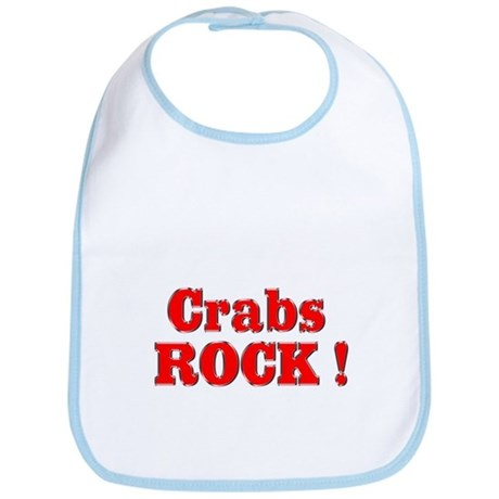 Crabs Rock ! Bib