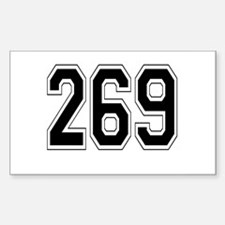 269 Rectangle Decal