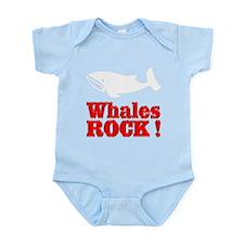Whales Rock ! Infant Bodysuit