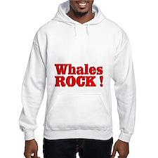 Whales Rock ! Hoodie