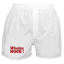 Whales Rock ! Boxer Shorts