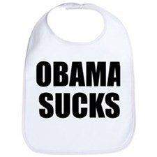 OBAMA SUCKS Bib