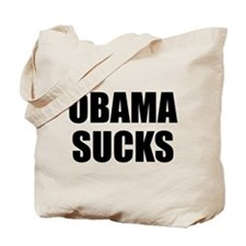 OBAMA SUCKS Tote Bag
