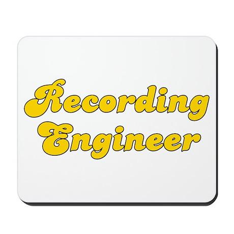 Retro Recording e.. (Gold) Mousepad
