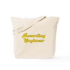 Retro Recording e.. (Gold) Tote Bag
