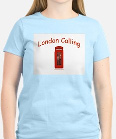 London Calling - Women's Pink T-Shirt